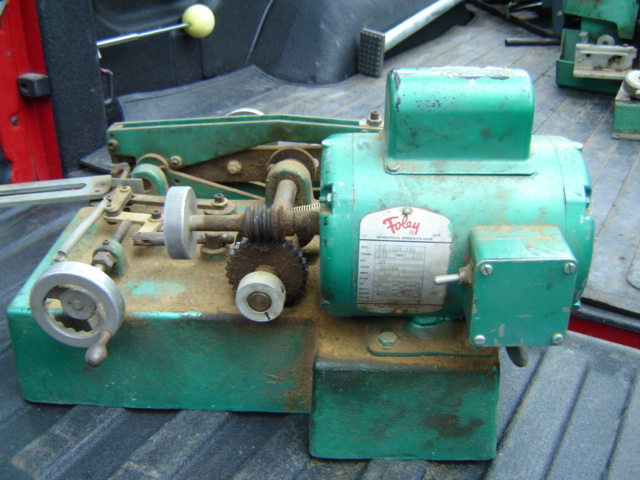 foley belsaw 200 saw sharpener